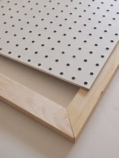How to Make a Giant Peg Board {tutorial}