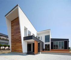 แบบบ้านขนาดกลาง สวยหรู มินิมอลสไตล์