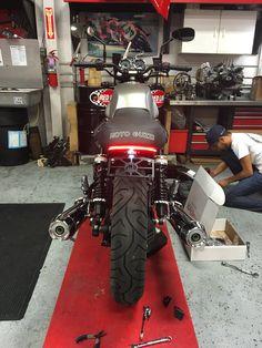 Motobox Slimline LED Tidy Tail Moto Guzzi V7