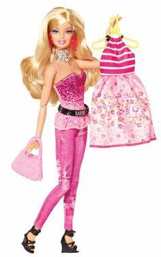 Barbie Fashionistas Fashion Fabulous Doll, Pink