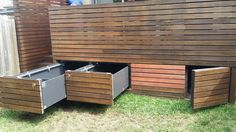 Under deck storage | for nick | Pinterest | Deck storage, Decking ...