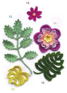 Voici des modèles des fleurs au crochet , avec leurs diagrammes gratuits , ou leurs grilles gartuites .. Voici le diagramme gratuit , ou la grille gartuite de la fleur au crochet 12 Voici le diagramme gratuit , ou la grille gartuite de la fleur au crochet...