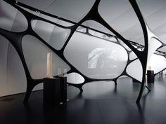 zaha hadid: chanel mobile art pavilion paris