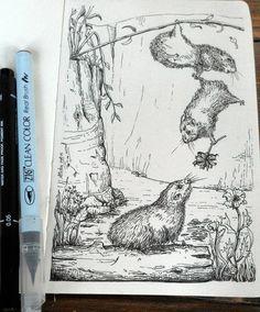 Hello Wombats! Illustration by Atita Dwi Indarty