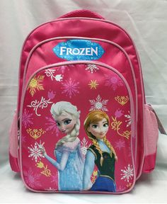 57ad2f06a3 Children Anime School bag primary girls frozen Elsa and Anna school backpack  cartoon girl backpacks Student bags