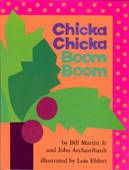 One of my children's favorite books. Hardcover or softcover...it delivers. Chicka chicka boom boom will there be enough room...