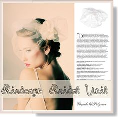 Bridal Headpiece for Older Brides (Vintage Birdcage Veils) #bridal #weddingveils