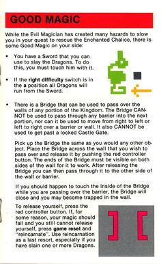 Atari 2600 - Adventure (1979) CX-2613 - Game Program Instructions - Page 5