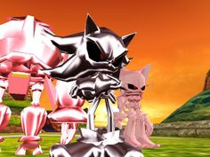 Shadow vs. Metal Sonic   Image - TeamDarkMetal.jpg - Sonic News Network, the Sonic Wiki