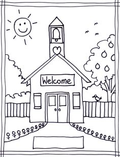 back to school coloring pages free printables image 22 - Printable Colouring Page