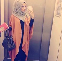 simple abaya and kimono...