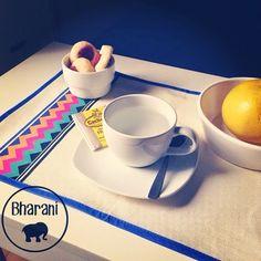 Nuevos individuales! Color en tu mesa :)  Www.bharani.com.ar