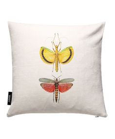 Insect 6 - Curious Collections by Marielle Leenders - Housse de coussin