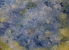 The Pond Original Abstract Impressionism Painting by lotsahappy, on Etsy!