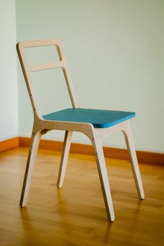 Remarkable Minimal chair designs is a part of our furniture design inspiration series. Minimal chair designs inspirational series is a weekly showcase Plywood Furniture, Plywood Chair, Cool Furniture, Furniture Design, Furniture Projects, Furniture Layout, Bathroom Furniture, Furniture Stores, Bathroom Ideas