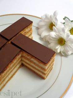 Hungarian Desserts, Hungarian Recipes, Yummy Treats, Sweet Treats, Yummy Food, Fun Desserts, Dessert Recipes, Salty Snacks, Sweet Cookies