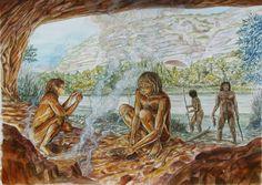 Homo heidelbergensis in Cueva Negra del Estrecho del Río Quípar by   Juan Navarro