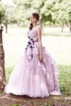 no.23775 - COLOR   新宿でウェディングドレスをレンタルするならブライダルサロンHANA