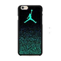 Nike Air Jordan Jump Mint Glitter IPhone 6| 6 Plus Cases