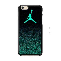 Nike Air Jordan Jump Mint Glitter IPhone 6| 6 Plus Cases