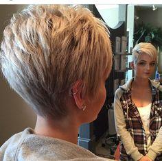 Laat jezelf schitteren! Voortreffelijke korte kapsels met een blonde haarkleur!