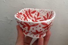 Tiny ceramic bowl - Steffie Brocoli