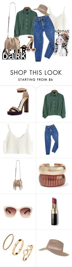 """""""Boyfriend style...femmine touch"""" by claire86-c ❤ liked on Polyvore featuring Jimmy Choo, PèPè, Diane Von Furstenberg, Rosantica, Eloquii, Bobbi Brown Cosmetics, H&M, Topshop and romwe"""