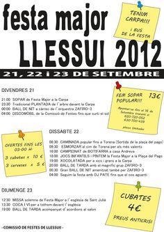 El blog de P.S.: Go!: Festa Major Llessui 2012