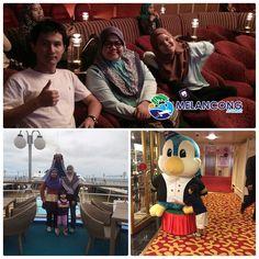 Percutian keluarga cik puan Zanida di Star Cruise SuperStar Libra. Nak menikmati pelayaran sambil beristirehat? http://www.melancong.com.my/105