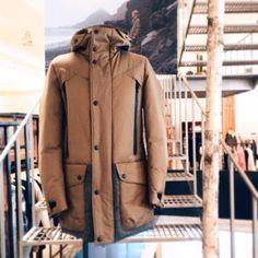 #Regram from @beaker_store the #limitededition #GriffinStudio #bearskin #parka #MadeinItaly as part of our pop up installation in store. Who's seen it? #LoveLife #Britishfashion #fashion #menswear #mensfashion #beakerstore #korea #luxury #lifestylebrand #morethanjustafashioncompany