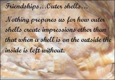 Friendships Outer Shells!