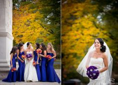 Bride | Bridesmaids | Wedding Day | Love | Bride & Groom | Franklin Plaza | Fall Wedding © Matt Ramos Photography