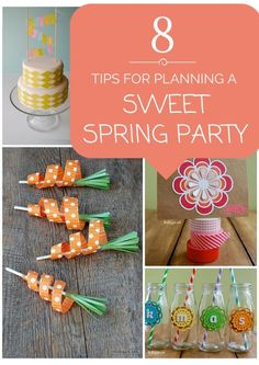 8 Tips for Planning a Sweet Spring Party