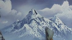 How to paint a mountain scene in the wet-on-wet oil technique- Jason Bowen Acrylic Painting Lessons, Watercolor Paintings Abstract, Painting Videos, Watercolor Artists, Painting Tutorials, Abstract Oil, Watercolor Illustration, Painting Snow, Matte Painting
