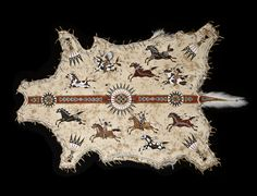 TRIBUTE Painted on white tail deer, this design features highly decorated Plains… Native American Regalia, Native American Design, Native American Artifacts, Buffalo Painting, Painted Cow Skulls, American Indian Crafts, Native American Paintings, American Artists, Native American Spirituality