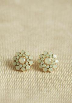 at ruche // light mint earrings