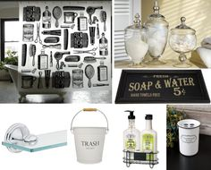 Create this apothecary-themed bathroom | Offbeat Home