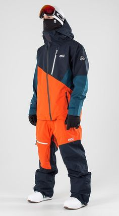 Mens Outdoor Fashion, Snowboarding Style, Snow Outfit, Snow Fashion, Blue Pants, Sport Outfits, Nike Jacket, Dark Blue, Snow Style