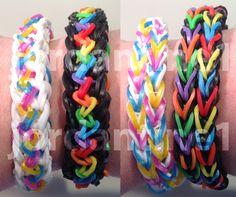 New Inspire Bracelet - Reversible - Rainbow Loom