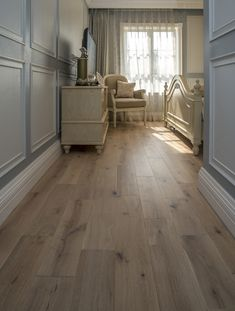 Order Nature Distressed French Oak Collection Lighthouse White / French Oak / Builders / / Distressed, delivered right to your door. House, Wood Floors Wide Plank, White Oak Hardwood Floors, Wood Floor Colors, House Flooring, Hardwood Floors, Home Renovation, French Country Living Room, Flooring