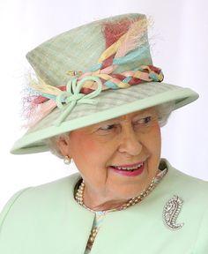 Queen Elizabeth, October 24, 2011 in Angela Kelly | Royal Hats