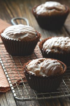 Gingerbread Muffins #christmas #holidays #recipe #baking