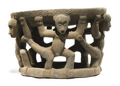 Large Costa Rican Stone Altar with Monkeys, Atlantic Watershed zone,<br>Early Period VI, ca. A.D.  800-1200 | lot | Sotheby's