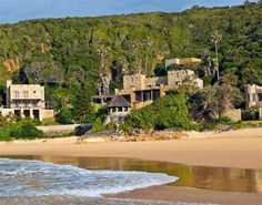 Castle on Noetzie Beach - Knysna South Africa