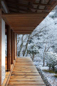 Winter Goals /// Kozan-ji Temple, Kyoto ▼ 高山寺 京都 via: Kyoto Japan, Japan Japan, New York Central, Central Park, Pavillion, Traditional Japanese House, Japanese Temple, Asian Architecture, Japanese Landscape