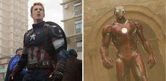 Así lucirán Capitán América y Iron Man en Civil War