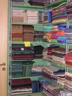 Sewing+Fabrics+Storage+Idea | Fabric Storage