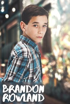 NEW Brandon Rowland WinterLook Autographed Poster   Hunter Rowland
