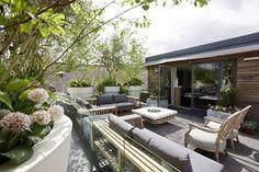 Terrassen unterschiedlicher Niveaus | GARTEN SOMMERFELD | Pinterest ...