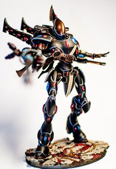 Eldar Wraithknight | just finished this huge model. I love h… | Flickr